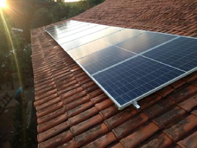 Instalação fotovoltaica, Paulo Campideli (Iguata...