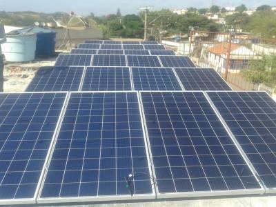 Instalação de energia Fotovoltaica na Pousada Pa...