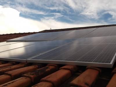 Instalação de energia Fotovoltaica na residência...